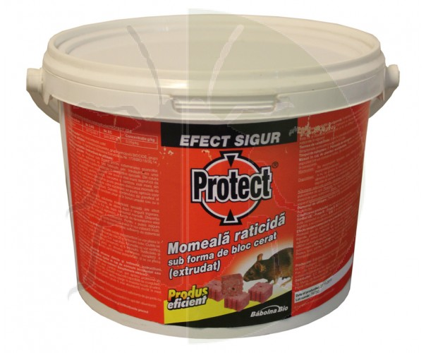 Raticid Protect, batoane extrudate